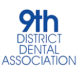 9th District Dental Association Logo.