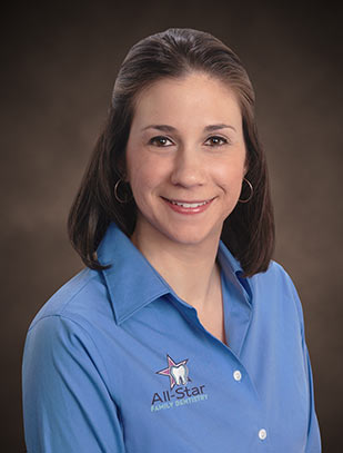 Dr. Kristen Vilardi-Shanley Portrait Photo.